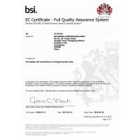 Сертифікат якості CE 691963