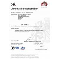 Сертифікат якості ISO 9001
